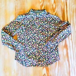 Adorable floral Cherokee Button Down shirt